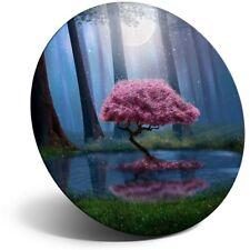Impresionante FRIDGE MAGNET-Bosque Árbol Mágico Rosa #45649