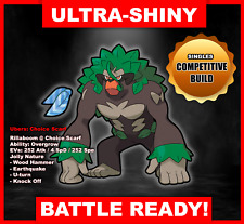 Pokemon Sword/Shield Ultra Shiny Battle Ready Rillaboom FAST DELIVERY