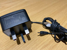100% Genuine AC-3X Thin Pin Mains Wall Charger For Nokia 1208 3720 6230 E72 N95