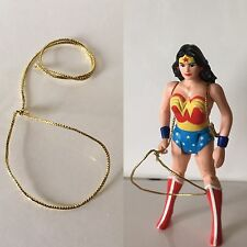 Kenner 1984 Super Powers Wonder Woman Custom Golden Lasso Weapon Accessory Only