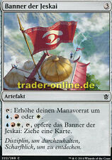 4x bannière de jeskai (jeskai bannière) Khan of tarkir Magic