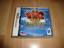 AGE OF EMPIRES THE AGE OF KINGS NTR-AEKX-ESP PARA NINTENDO DS USADO COMPLETO