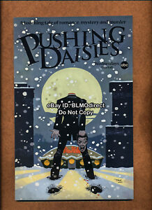 VHTF 2007 Pushing Daisies #1 ABC Tim Sale Blue Headless Variant Daises TV SDCC