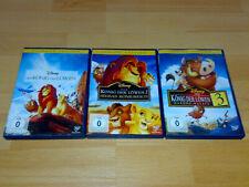 Der König der Löwen , Trilogie - Teil 1 + 2 + 3 Walt Disney Special Edition