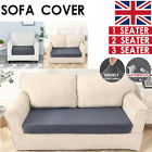 1-3 Seater Sofa Seat Covers Couch Slipcover Cushion Elastic Knitted Protector Uk