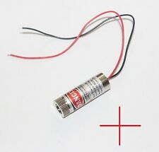 Pelo cruzada Laser Pointer industrial 12mm Od 3-5 VDC Set módulo de línea de enfoque CNC