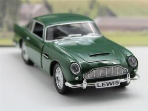 PERSONALISED PLATE Aston Martin DB5 Boys Girls Toy Model Car Birthday Present