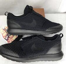 new concept d9d63 caef2 Nike Roshe NM Flyknit SE 11.5 Triple Black (816531 001)