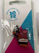 London Olympics 2012 Pin Badge - Handball Copper Box Basketball Arena