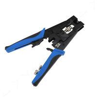 Compression Crimp Tool BNC RCA F Connectors Universal Coax RG59 RG6 Catv Cable