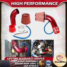 3in Cold Air Intake System Kit with Filter & Pipe Powder Flow Hose For GMC Chevy