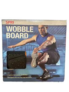 """SPRI Wobble Board Balance Strengthening Trainer 14"""" Platform Fitness Exercise"""