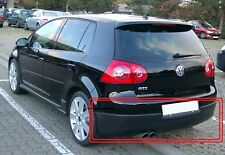 NEW VW MK5 GOLF GTI GENUINE REAR LOWER BUMPER SPOILER SKIRT BLACK 1K6807521D 9B9