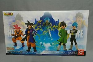 HG Movie Dragon Ball Super Goku! Vegeta! Fusion set of 8 figures & Effect Bandai