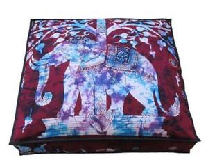 88.9X15.2cm Elefanten Muster Kissenbezug Meditation Groß Hundebett Abdeckung