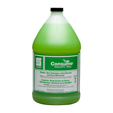 Case Of 4 Gallons Spartan Consume Natures Way Odor Eliminator