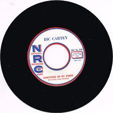RIC CARTEY - SCRATCHING ON MY SCREEN (FABULOUS GUITAR ROCKABILLY) - REPRO