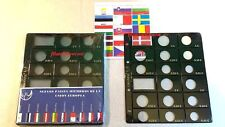 Hojas De Monedas Para 16 Países Euro Banderas Incluidas