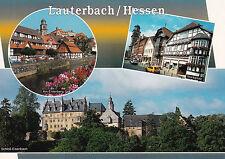 AK Lauterbach Mehrbildkarte Schloß Am Entenberg Marktplatz