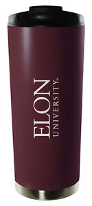 Elon University-16oz. Vacuum Tumbler-Burgundy