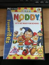 Noddy PC CD ROM Let's Get Ready For School 3+ BBC