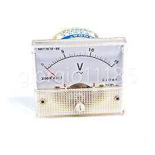 Us Stock Analog Voltmeter Panel Pointer Volt Voltage Meter Gauge 85l1 Ac 0 15v