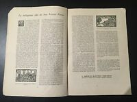 Revista antigua De San Vicente De Ferrer Andachstbild Santini Holy Card Santino