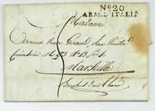 No. 20 ARM. D'ITALIE Verona 1806 Armeebrief Soldatenbrief Napoleon