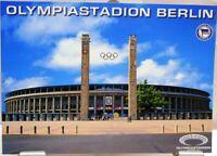 Postkarte Fußball + Olympiastadion Berlin + Hertha BSC Berlin Edition #190432
