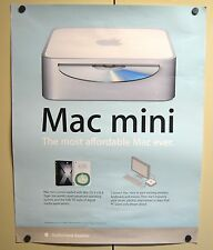 RARE 2005 Apple Poster 22x28 - Mac mini The most affordable Mac ever