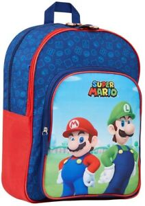 Super Mario Kids Backpack, School Bag for Boys and Teenager, Super Mario