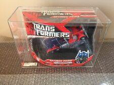 2007 Hasbro transformers:movie voyager class Optimus prime Stunning AFA 85/85/90