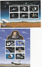 Gambia MNH Sc 2173-74  S/S  Value $ 12,35   US $$  Space Exploration