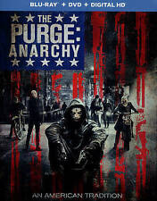 The Purge: Anarchy (Blu-ray/DVD, 2014, 2-Disc Set)