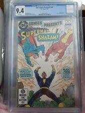 DC Presents # 49 CGC 9.4    2nd black Adam