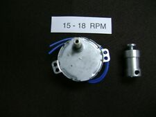 15 - 18 Rpm Dryer-Drying Motor with Shaft Coupler
