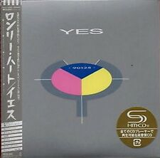 CD ROCK PROGRESSIF PAPER SLEEVE VINYL REPLICA + OBI NEUF + YES / 90125