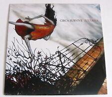 Circa Survive *Juturna* Green White Swirl Vinyl LP Anthony Green RARE OOP /1000