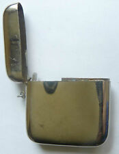 Vintage Metal Matchbox Match Safe Vesta Case beginning of XXc