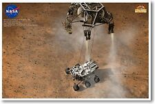 Curious Mars Curiosity 5 NEW EDUCATION CLASSROOM SCIENCE SPACE ASTRONOMY POSTER