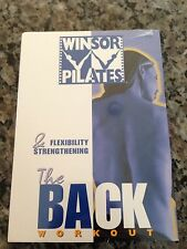 Winsor Pilates The Back Workout Flexibilty & Strenghthening New Sealed