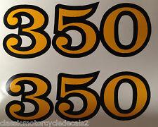 HONDA SL350 SIDE PANEL DECALS