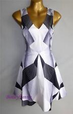 Karen Millen Cotton V Neck Sleeveless Dresses for Women