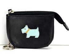 New Radley Profile Dog Metallic Plum Small Zip Coin Purse RRP £49 /& Dust Bag