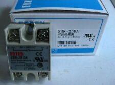 1PC Fotek SSR-25DA SSR25DA Solid State Relay 25A #exp New Free Shipping