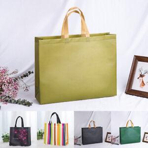 Women Nylon Tote Bag Reusable Portable Handbag Large Shopping Grocery Bags 1PC