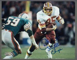 Don Warren Autographed Signed Skins 8x10 W/ SB XVII Champs SCH Authentic #27766