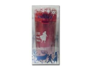 Disney Frozen Canteen My Bottle Tumbler Stainless Steel One Push Anna Snow Red
