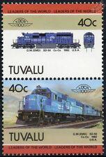 1982 Conrail EMD SD-50 / SD50 No.6729 Diesel-Electric Train Stamps / LOCO 100