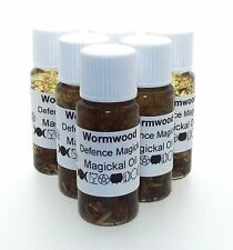 Wormwood Herbal Magickal Oil Witches Defence